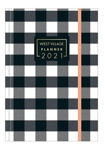 Planner West Village Cost.2021 Quadriculado - Tilibra