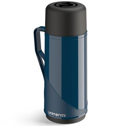 Garrafa Térmica Roma 1 Litro Azul Escuro  Unitermi
