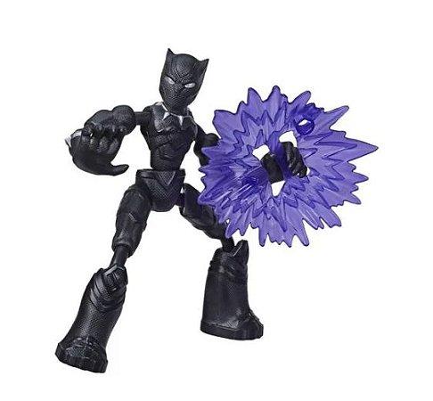 Boneco Avengers Fig.Bend and Flex Pantera Negra - Hasbro