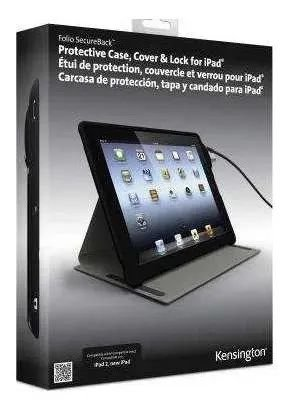 Capa E Base Com Trava P/ iPad Kensington