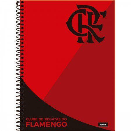 Caderno Flamengo CD 1X1 96 FLS - Foroni