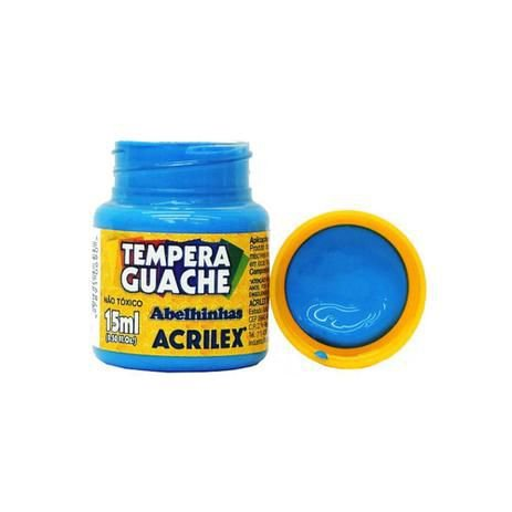 Tinta Guache 15ml Acrilex Azul Celeste