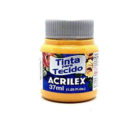 Tinta Tecido Fosca 37ML Amarelo Ouro Acrilex