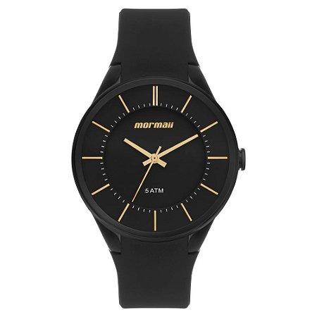 Relógio Mormaii Feminino Luau Preto - MO2035KM/8D