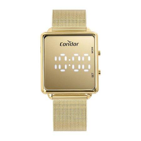 Relógio Condor Feminino Digital LED Dourado - COMD1202AF/4D