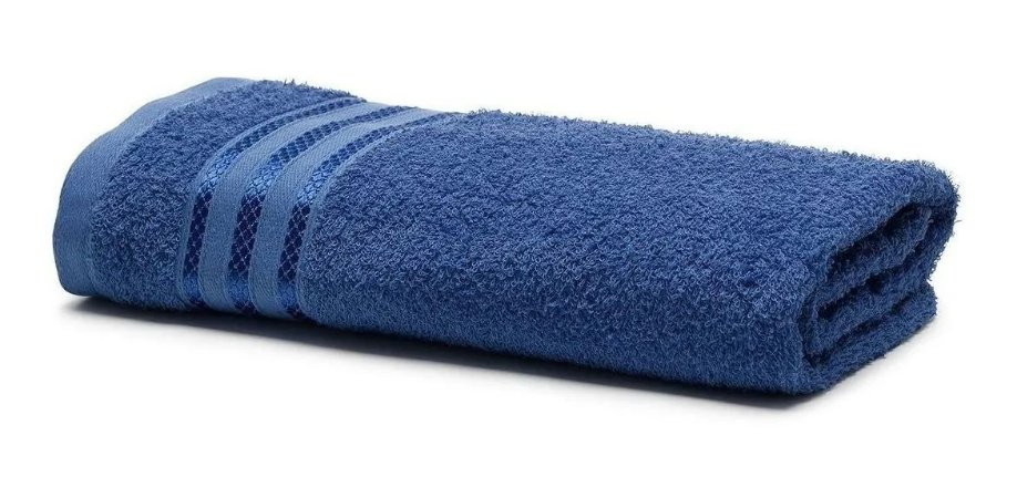 Toalha de Banho Royal Knut Azul  - Santista