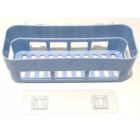 Suporte Organizador Plástico Azul - Amigold