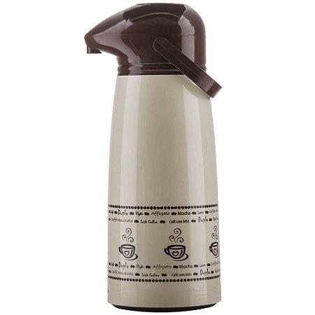 Garrafa Térmica 1,8L Suprema Pressão Coffee Line - Aladdin