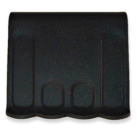 Pegador de Silicone p/ Alça de Panela Preto 8x7cm - Kehome