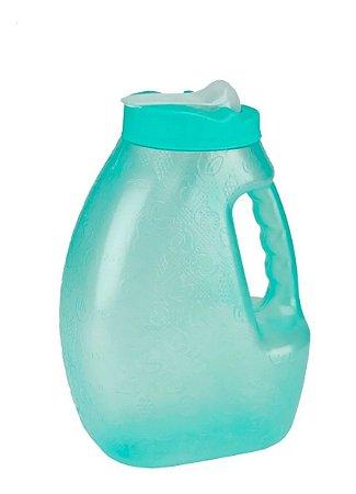 Jarra De Plastico Recipiente Para Agua Botellas Agua 3.2L Verde Jaguar