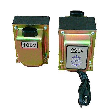 Auto Transformador  Entrada 220V x  Saída 100V  150 watts