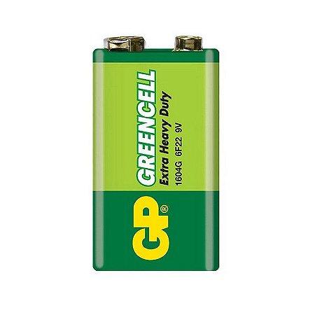 Bateria 9V 6F22 GREENCELL GP