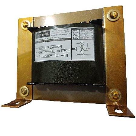 Transformador  Monofásico de Comando Universal  220V/380V/440V X 110V/220V 150VA