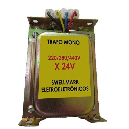 Transformador de Comando 220/380/440V x 24V 430VA = 300wts