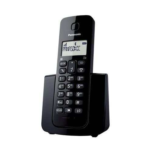 Telefone sem Fio Dect 6.0 Kx-TGB110LBB c/ Id de Chamadas 1.9Ghz - Preto - Panasonic