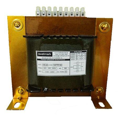 Transformador Monofásico de Comando Universal 220V/380V/440V X 110V/220V 1000VA