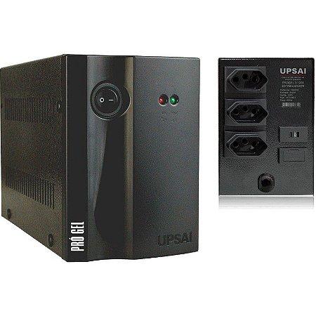 Estabilizador P/ Geladeira Progel 3 1000va 1kva 220v Upsai