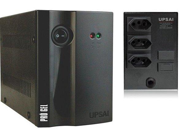Estabilizador para Geladeira PRO GEL3 1500VA 1,5kva 220V x 220V - UPSAI