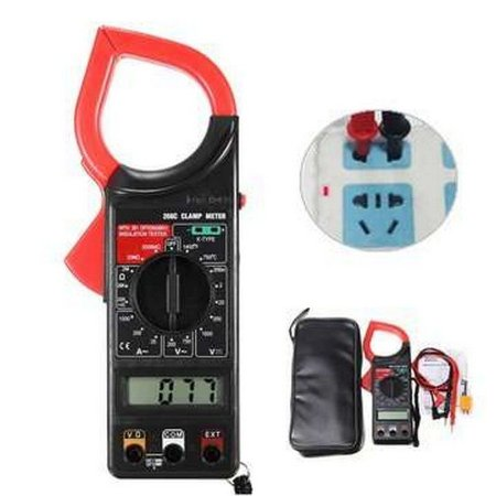Alicate Amperímetro Digital DT266 c/ temperatura - Star Cable