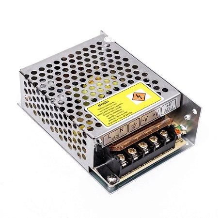 Fonte Chaveada Colmeia 12v 10A 120w Estabilizada Bivolt para Cftv Led Som