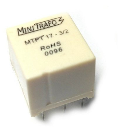 Mini Trafo de Pulso MTPT 17-03/2 1.1.1 -400MA Usados para Disparos de Tiristores e Triacs