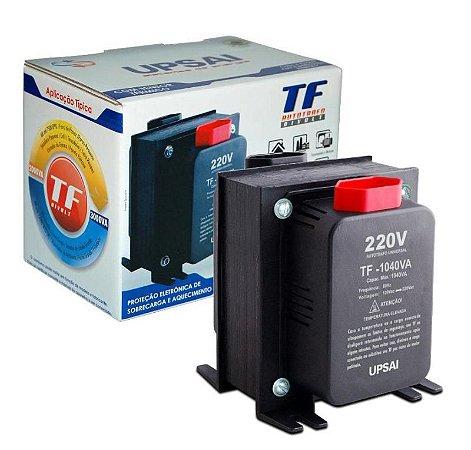 Auto Transformador TF 500VA Bivolt 110V/220V ou 220V/110V C/ Sensor Térmico - UPSAI
