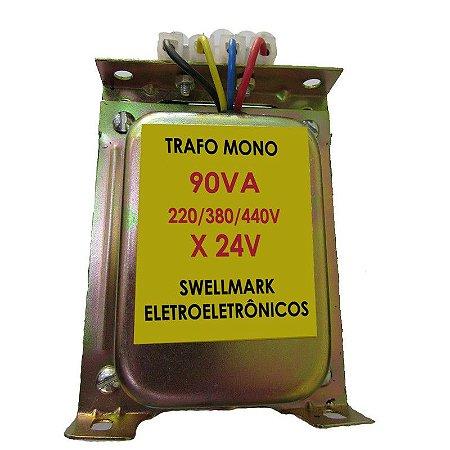 Transformador De Comando 220/380/440V x 24V 90VA