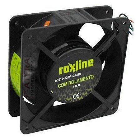 Micro Ventilador Cooler c/ Rolamento Bivolt 50-60hz 0.21A 0.14A - Roxline