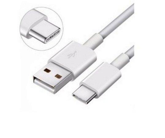 Cabo USB Type-C Unidade 2 Metros Branco Comp