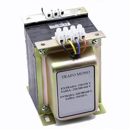 Transformador de Comando 220/380/440V x 110/220V 600VA= 500 wts