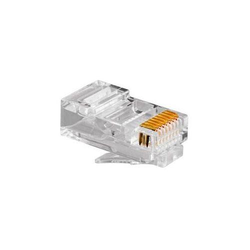 Conector Rj45 Macho Cat5e 8p8c Plug Pacote c/ 100 Unidades