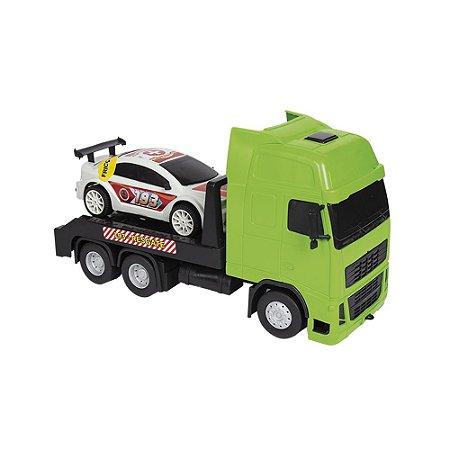 Caminhão Resgate + Carro Fricção