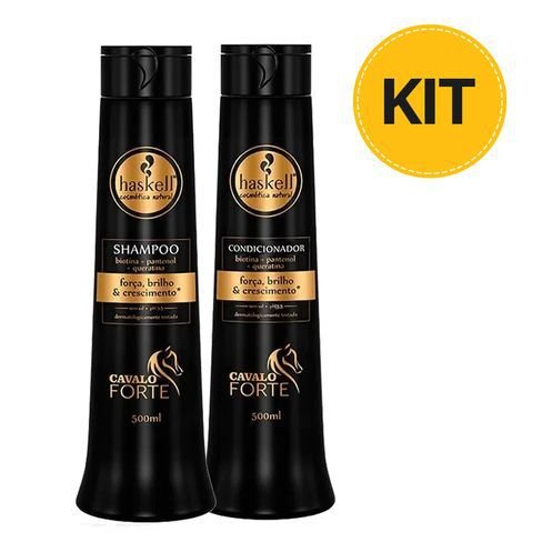 Kit Cavalo Forte Haskell - Sh+Cond 500ml