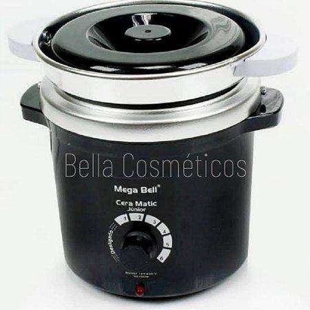 Aquecedor Profissional de Cera Matic Junior Mega Bell - 400g - Com Refil - Bivolt (Não automático)