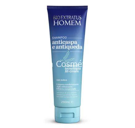 Shampoo Anticaspa e Antiqueda Bio Extratus - 250mL