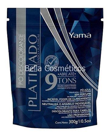 Pó Descolorante Platinado 9 tons Yamá - 300g