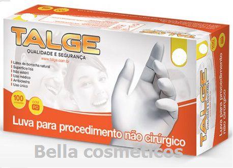 Caixa de Luvas Látex Talge - c/100 unidades