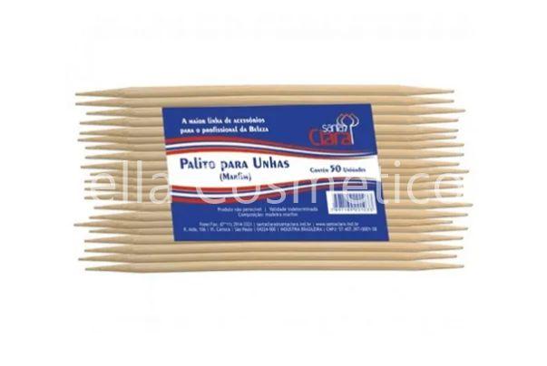 Palito Para Unhas Marfim Descartável Santa Clara (50 unidades) - cód. 103