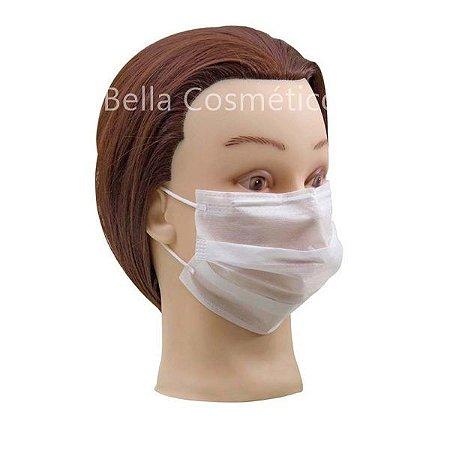 Máscara Descartável Não Tecido Com Elástico Santa Clara