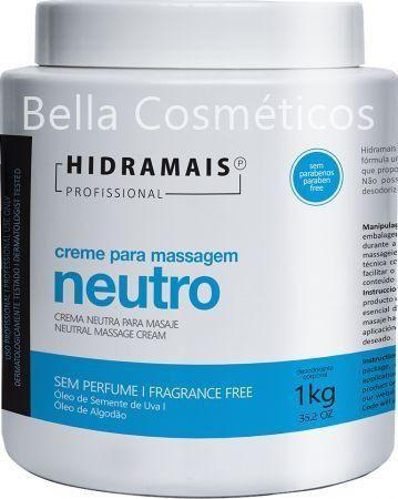 Creme para Massagem Neutro Hidramais - 1kg