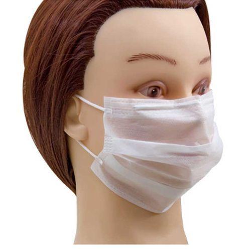1 cx Máscara descartável não tecido com elástico Santa clara ref 321 (caixa com 25un de máscara)