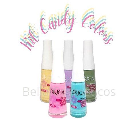 Kit Candy Colors Drica Esmaltes - 5 Esmaltes