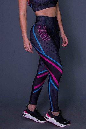 Calça Legging Fitness Squares - Ref: D2612