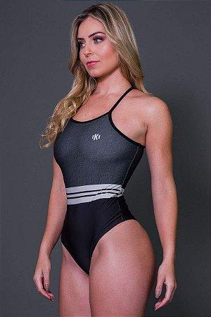 Body Fitness Nadador 3D Cotton Stripes - Ref: D2630
