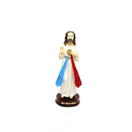 Imagem Jesus Misericordioso 15 cm