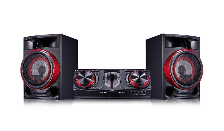 Mini System LG CJ87 XBoom Dual USB Multi Bluetooth - 1800W