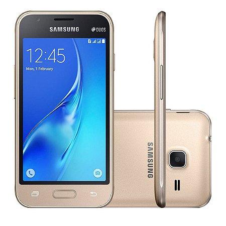 """Smartphone Samsung Galaxy J1 Mini Duos com Dual Chip, Tela 4.0"""", 3G, Câmera de 5MP, Android"""
