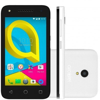 """Smartphone Alcatel U3 com Tela 4.0"""", 4G, 8GB de Memória, Dual Chip - 4055J"""