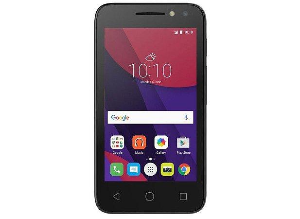 Smartphone Alcatel Pixi 4, 8GB, 8MP, Dual Chip, 3G, Preto - 4034E