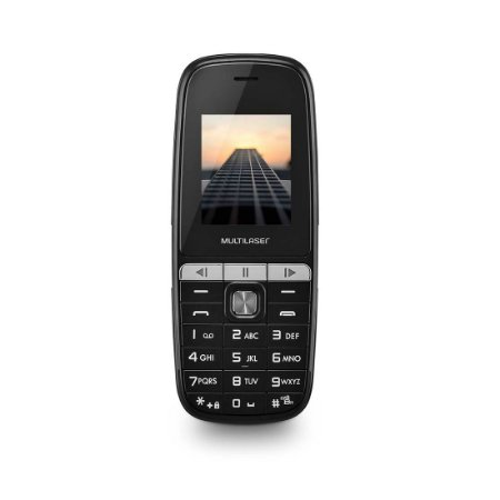 Celular Multilaser Up Play Dual Chip, com Câmera, MP3, Rádio FM, Bluetooth, Lanterna, Preto - P9076